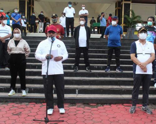Buka Jalan Santai yang Digelar Pemkot Ambon, Ini Pesan Gubernur Maluku