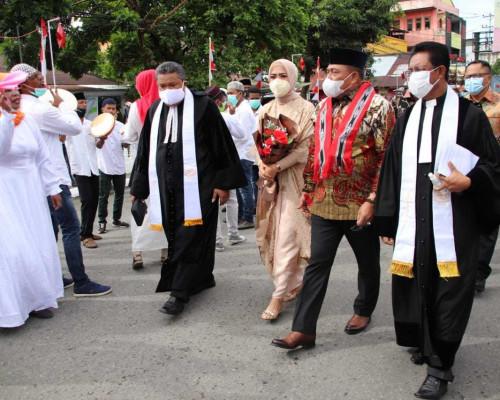 Gubernur Maluku Resmikan Gedung Gereja Imanuel Jemaat Galala